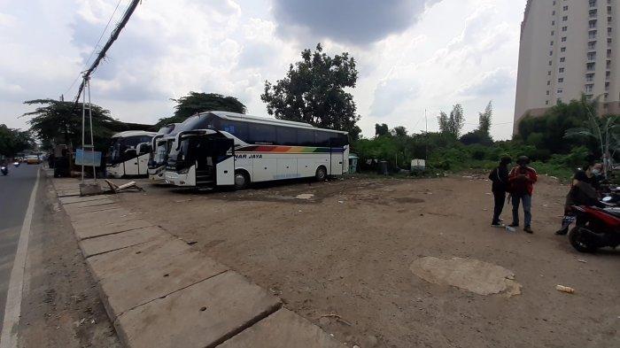 Puluhan PO Bus di Terminal Poris Plawad Menerima Lapang Dada Soal Larangan Mudik 2021