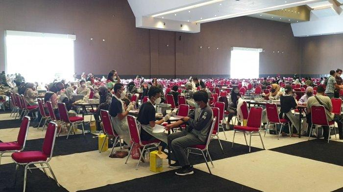 Melihat Lebih Dekat Vaksinasi Massal Gratis di JIExpo Kemayoran, Kuota Capai 20 Ribu