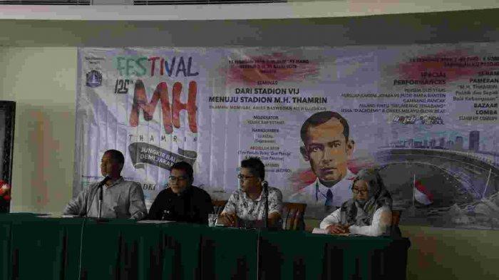 Pemprov DKI Gelar Festival 125 Tahun MH.Thamrin di Cideng Jakarta Pusat Besok