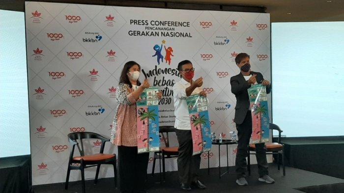 Kolaborasi dengan BKKBN, 2 Lembaga Nirlaba Canangkan Gerakan Indonesia Bebas Stunting 2030