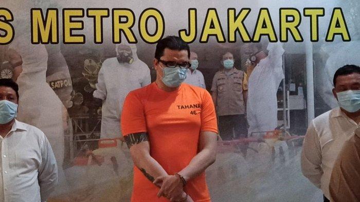 Polisi Temukan 1,32 Gram Sabu di Rumah Artis Jerry Lawalata