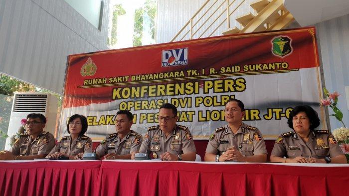 Minggu ke-3 Pascakecelakaan, Tim DVI Identifikasi Seorang Wanita Penumpang Lion Air PK-LQP