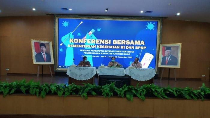 Kemenkes & BPKP Tetapkan Harga Rapid Test Antigen: Rp250 Ribu Pulau Jawa, Rp275 Ribu Luar Pulau Jawa