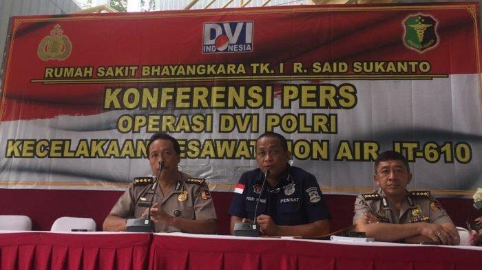 Hari ke-12 Operasi DVI Lion Air PK-LQP, RS Polri Sudah Periksa 626 DNA