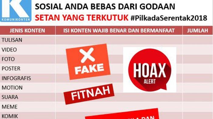 Isu SARA dan Hoax Bakal Banyak Bermunculan di Tahun Politik