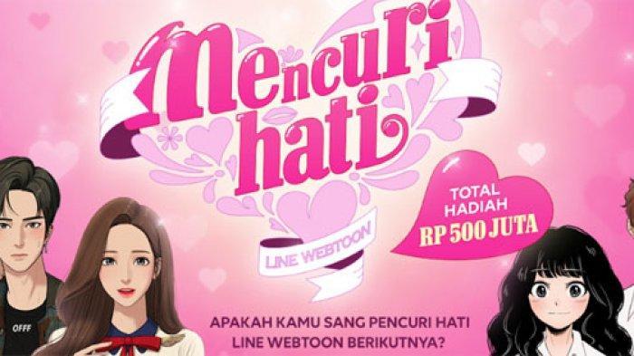 Kontes Line Webtoon 2020 Digelar, Total Hadiah Rp 500 Juta, Minat Ikutan?