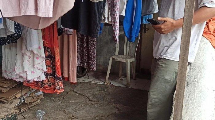 Kontrakan di wilayah Koja, Jakarta Utara, tempat aksi pencabulan yang dilakukan pengemis bernama Edi (38) kepada bocah perempuan warga setempat