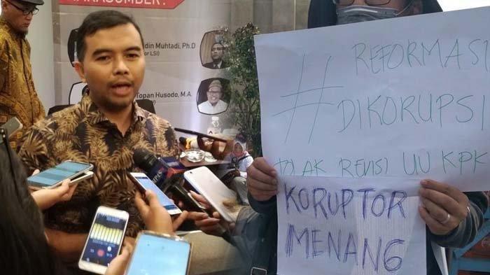 UU KPK Disahkan, ICW akan Gugat ke MK: Banyak Regulasi Dikesampingkan DPR