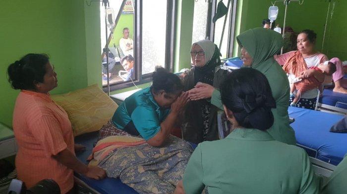 Kopassus Beri Bantuan Kemanusiaan dan Kerahkan 170 Pasukan Bantu Korban Bencana Tsunami di Banten