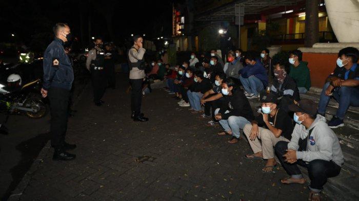 Kopi Darat Jelang Waktu Sahur, 24 Motor Diamankan Polresta Tangerang saat Operasi Cipta Kondisi