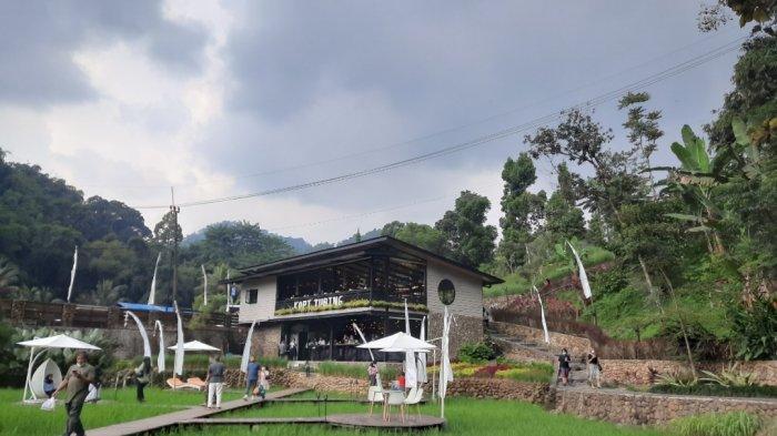 Kopi Tubing, Tempat Ngopi Cantik di Bogor dengan Suasana Alam Khas Pedesaan
