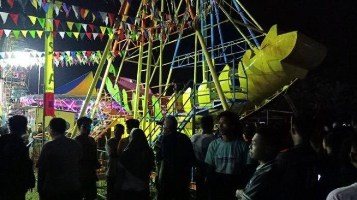 Marak Pasar Malam Jelang Lebaran di Tangsel, Tidak Berizin Siap-siap Dibubarkan