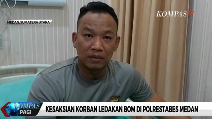 Kesaksian Korban Ledakan Bom Bunuh Diri Polrestabes Medan: Pelaku Sengaja Mendekat, Jaraknya 4 Meter