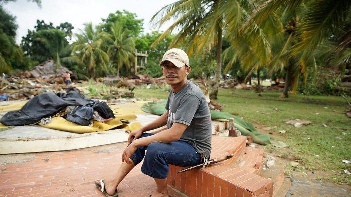 Kesaksian Bian, Korban Tsunami Selat Sunda yang Selamat dari Ombak Setinggi 10 Meter