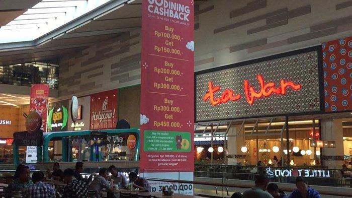 Makan Bersama Saat Imlek di Kota Kasablanka, Bisa Dapat Cashback 50 Persen Lho
