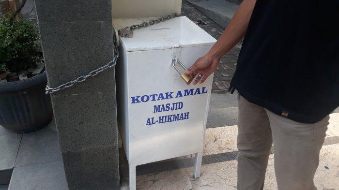 Bobol Gembok Kotak Amal dengan Cairan Kimia, Maling di Bekasi Bawa Kabur Uang Masjid Rp 10 Juta