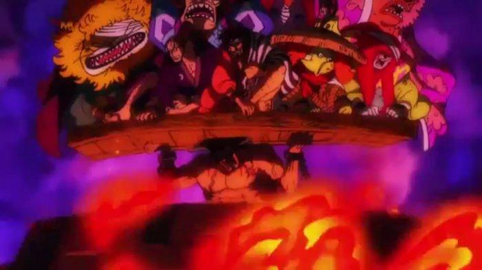 Jadwal Anime One Piece 974, Cara Kozuki Oden Untuk Selamatkan Akazaya yang Dieksekusi Kaido