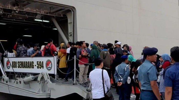 Satu Tahun Musibah Kecelakaan Lion Air JT 610, Keluarga Korban Tabur Bunga di Lokasi Kejadian