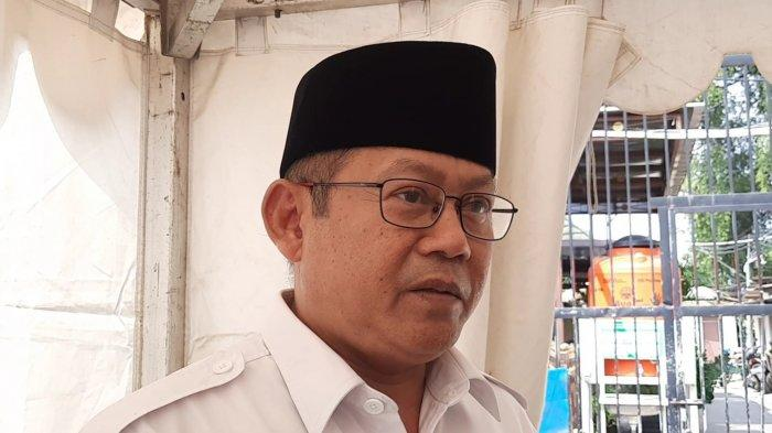 Kuasa Hukum AT (21), Bambang Sunaryo di Polres Metro Bekasi Kota, Jumat (21/5/2021).