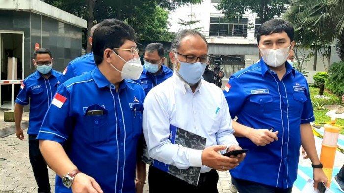 Tim Kuasa Hukum Partai Demokrat Kubu AHY Datangi PN Jakarta Pusat, Gugat 10 Orang Penggerak KLB