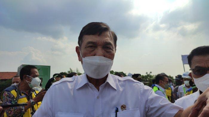 Tinjau Sodetan Kali Ciliwung-KBT, Menteri Luhut: Diharapkan Awal Tahun 2022 Selesai