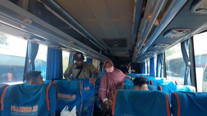 PSBB DIterapkan, Harga Tiket Bus di Terminal Bayangan Cimanggis Tangsel Naik Dua Kali Lipat