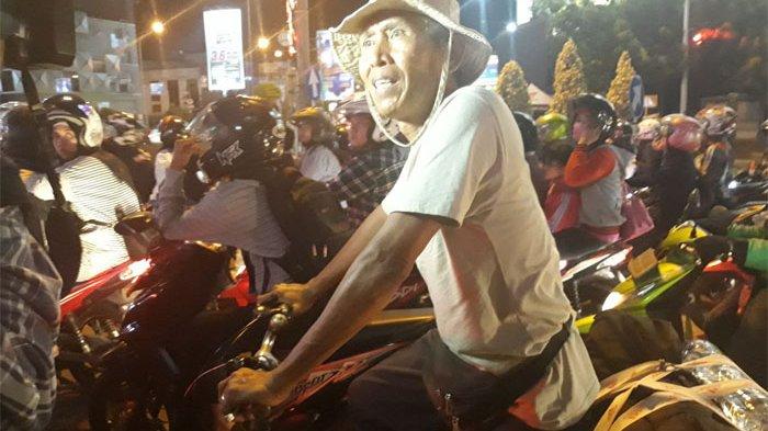 Cerita Kusnadi, Kakek 60 Tahun Yang Mudik Pakai Sepeda