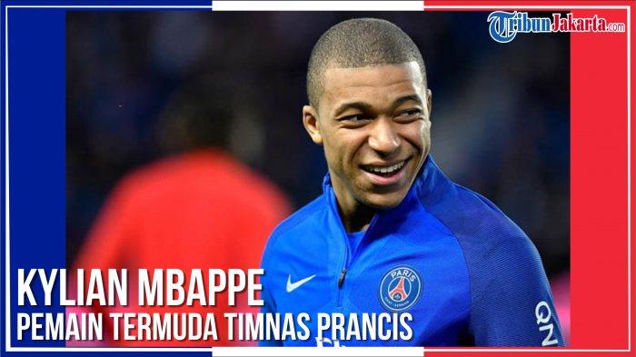 4 Fakta Unik Kylian Mbappe, Pemain Termuda Timnas Perancis: Tidak Terima Gaji