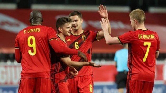 Hasil Piala Eropa 2020 Grup B: Belgia Tak Terbendung di Fase Grup, Pemain Liga Jepang Jadi Pembeda