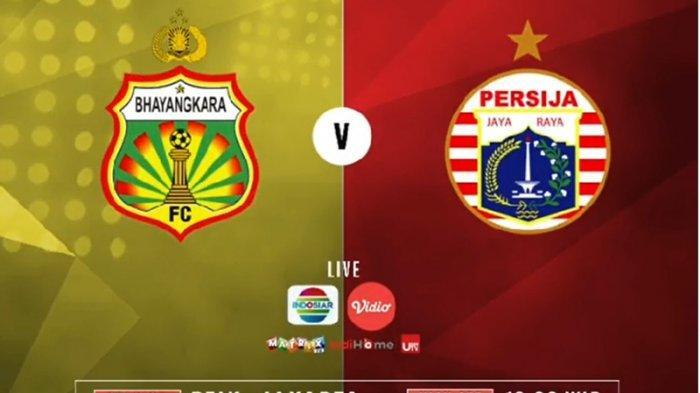 SEDANG BERLANGSUNG Buka Link Live Streaming Bhayangkara FC Vs Persija Jakarta Liga 1 2019