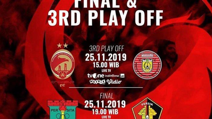 LINK Live Streaming Sriwijaya FC Vs Persiraja Liga 2 2019: Tiket Terakhir Promo Liga 1 2020