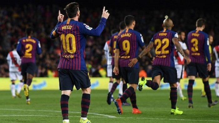 Hasil Liga Spanyol: Barcelona Semakin Memuncak, Selisih 15 Poin dengan Real Madrid