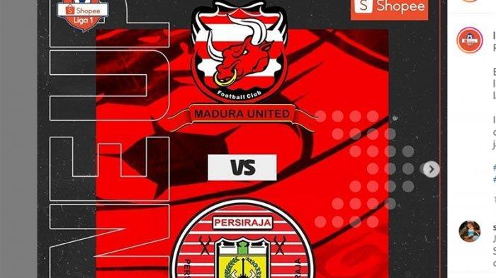LINK Live Streaming Madura United Vs Persiraja Banda Aceh Liga 1 2020, Tonton Disini
