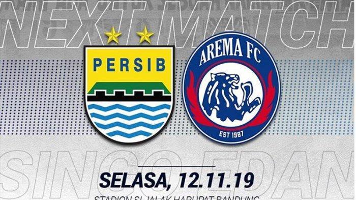 BERLANGSUNG Live Streaming Persib Bandung Vs Arema FC, Pemain Ini Diplot Gantikan Ezechiel Ndouassel