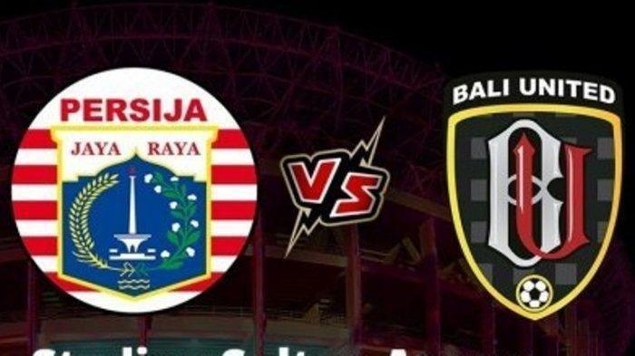Laga Persija Jakarta Vs Bali United