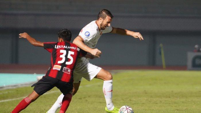 Laga Persija Jakarta Vs Persipura Jayapura pada pekan ketiga Liga 1 2021