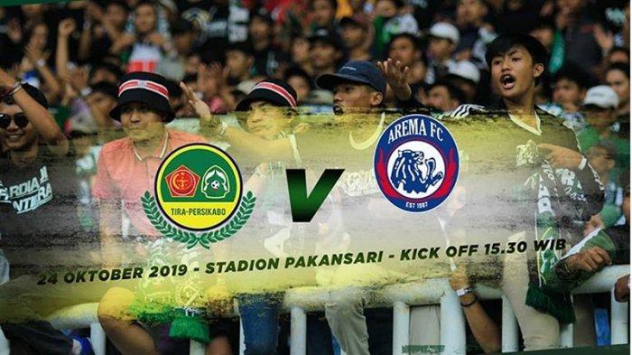 LINK Live Streaming PS Tira Persikabo Vs Arema FC: Misi Balas Dendam Singo Edan