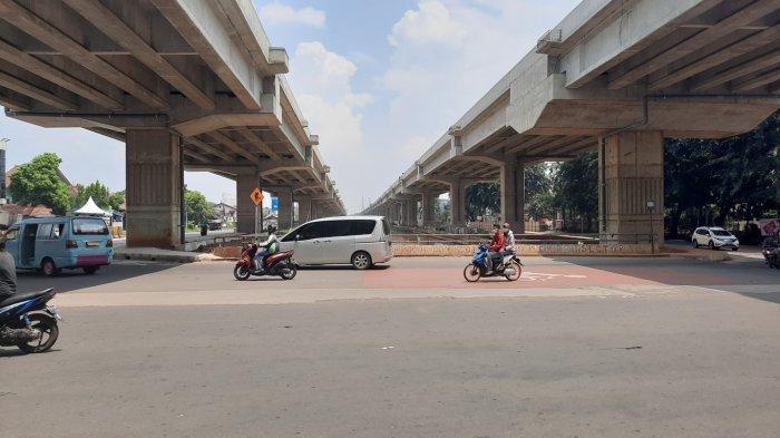 BERITA FOTO: Hari Pertama PSBB, Ruas Jalan di Bekasi Menuju Jakarta Lengang - lalu-lintas-bekasi-sepi.jpg