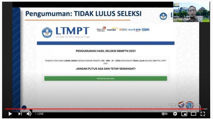 Simak Cara Download Sertifikat UTBK SBMPTN 2021 untuk Daftar PTN Jalur Mandiri