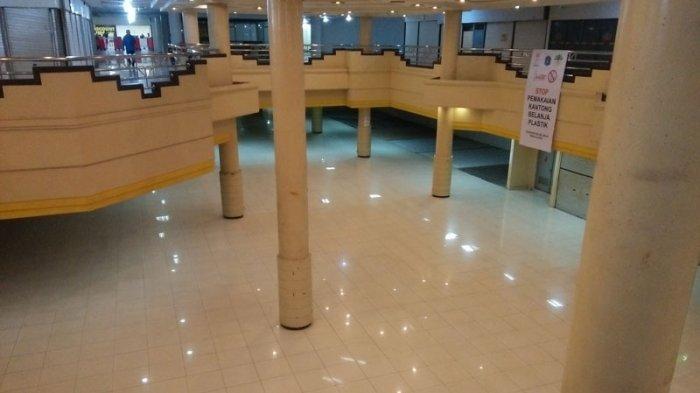 Potret Miris Lantai Dasar Blok M Mall, Nyaris Tak Ada Aktivitas Jual-beli