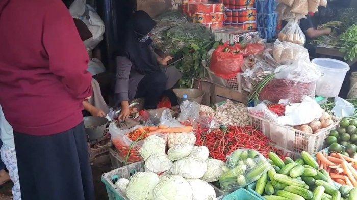 Sudah Turun, Harga Cabai Rawit Merah di Pasar Kramat Jati Masih Rp 110 Per Kilogram