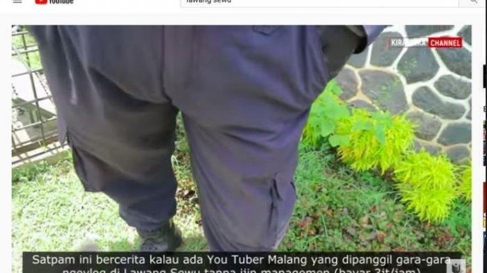 Viral Youtuber Ditagih 3 Juta Per Jam Saat Ngevlog di Lawang Sewu, Ini kata Pengelola