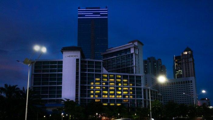 Aksi Corona, Marriott International Hotel Menyalakan Lampu Bentuk Tersenyum Senin Besok