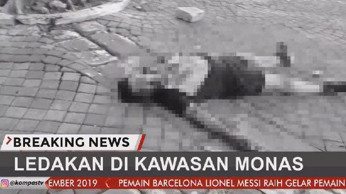 Tangan Kiri Anggota TNI Korban Ledakan Monas Putus, Mayjen Eko: Dia Pegang Granat Asap