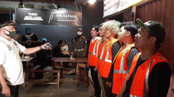 Terjaring Patroli PSBB, Sejumlah Pemuda Pamulang Ketahuan Tidak Hafal Pancasila