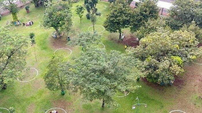 Antisipasi Kerumunan Saat Libur Lebaran, Taman Margasatwa Ragunan Buat Lingkaran Pembatas