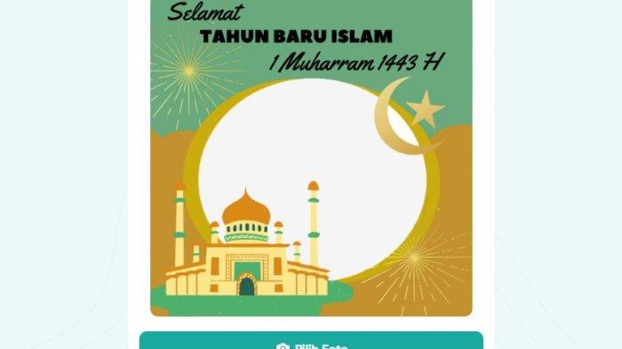 Islamic New Year Twibbon Link 1443 H.