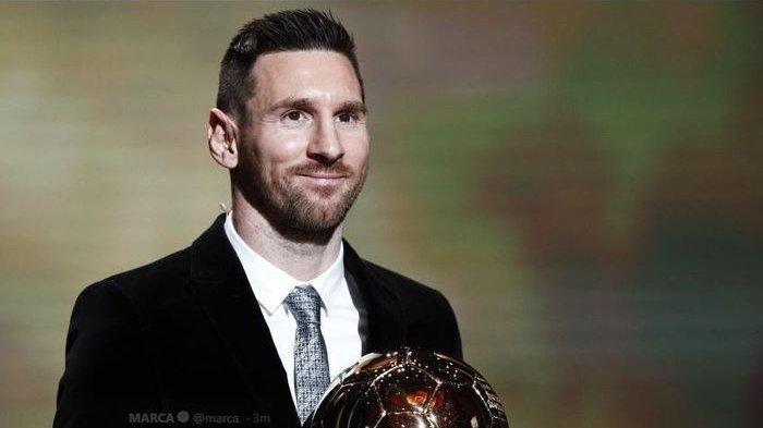Hasil Ballon d Or 2019: Lionel Messi Menang ke-6 Kalinya, Ini Pemenang Penghargaan Lainnya