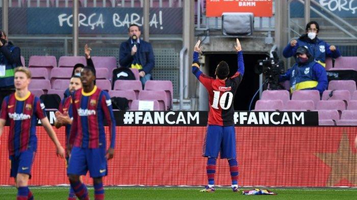 Selebrasi Emosional Lionel Messi Membawa Petaka Besar, Barcelona Terancam Denda Rp50 Juta