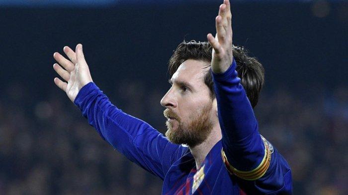 VIDEO Lionel Messi Pukul Kepala Belakang Pemain Bilbao hingga Dikartu Merah